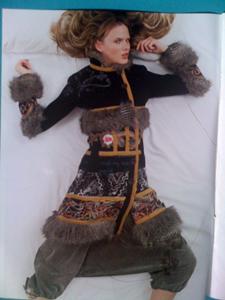 Manteau hiver ethnique