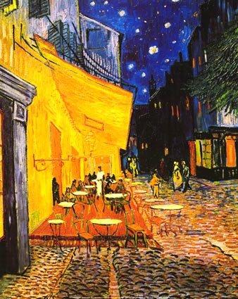 Van Gogh Provence la nuit