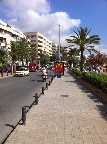 arret bus Ibiza