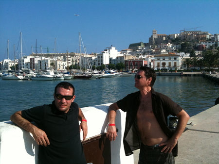 bo gosses du port d'Ibiza
