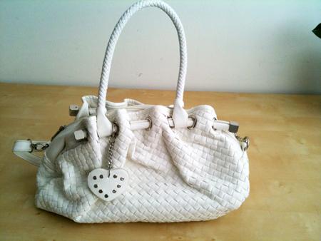 sac blanc marché