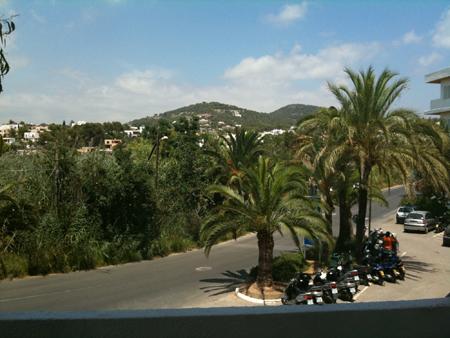 vue chambre hotel playa real ibiza