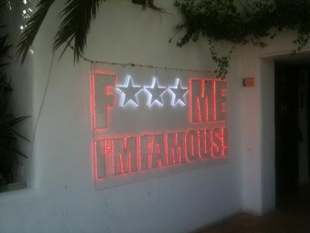 f*** me im famous Pacha Ibiza