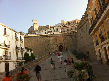 Ibiza vieille ville fortifiée