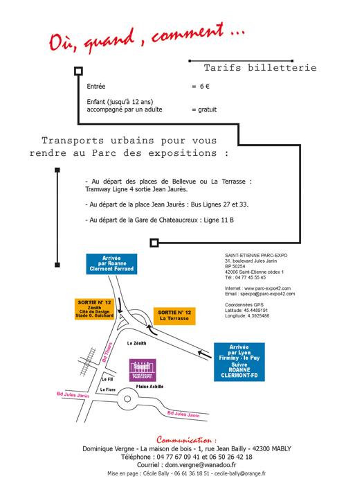 Exposition Féline Mondiale Saint Etienne Plan