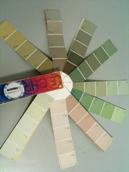 nuancier couleurs chambre bébé