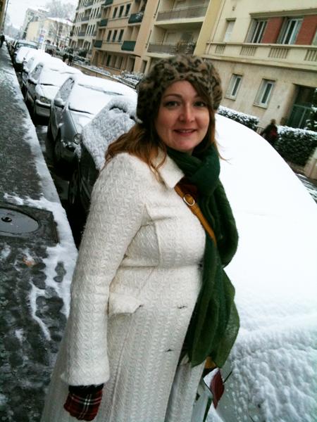 look sous la neige