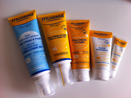 mustela crème solaire