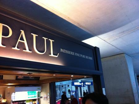 faute d'orthographe enseigne Paul
