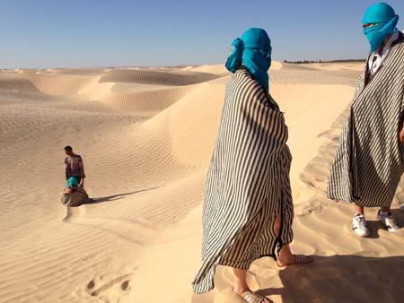 glissades dunes sahara