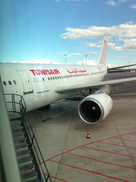 Tunisair en retard
