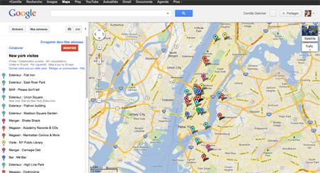 google map nyc