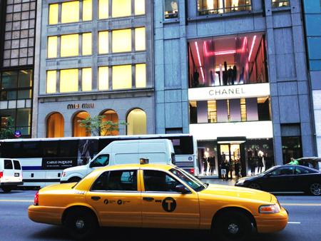 Boutiques de luxe New-York