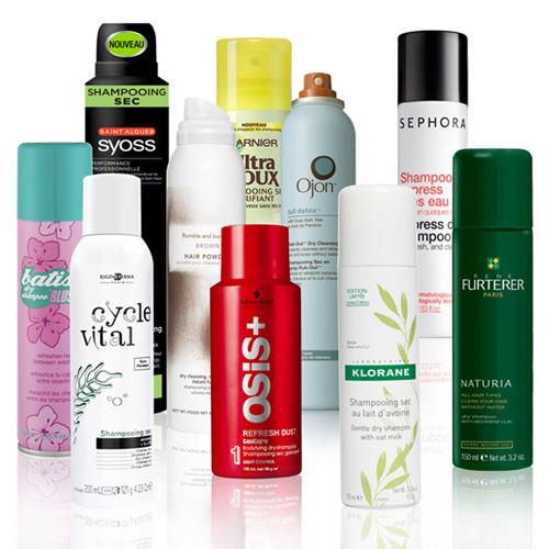 shampooings secs