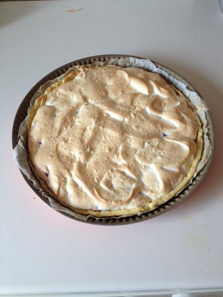 dessert framboise meringuée