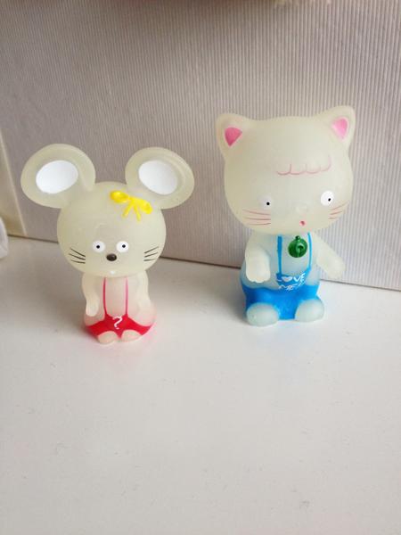 figurines chat et souris
