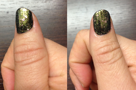 noir + paillettes Knitted Gold Gemey Maybelline
